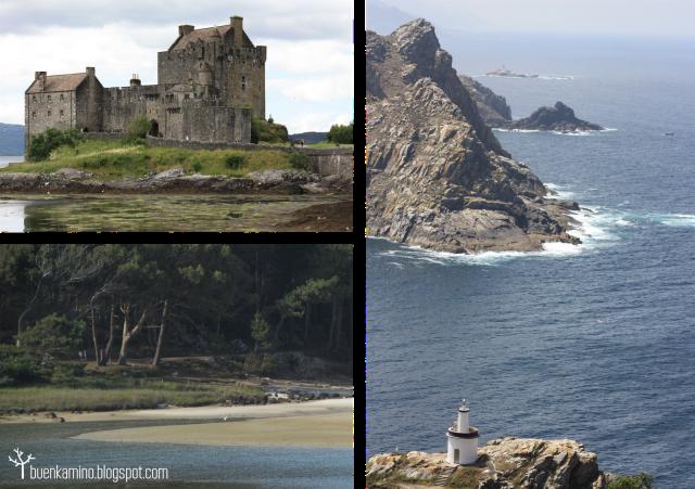 Escocia e Islas Cíes