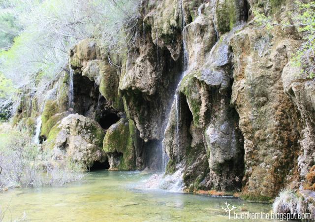 cascadas del nacimiento del rio cuervo