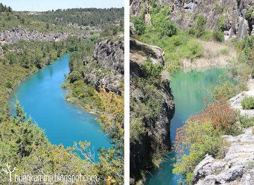 Aguas esmeralda del Río Júcar