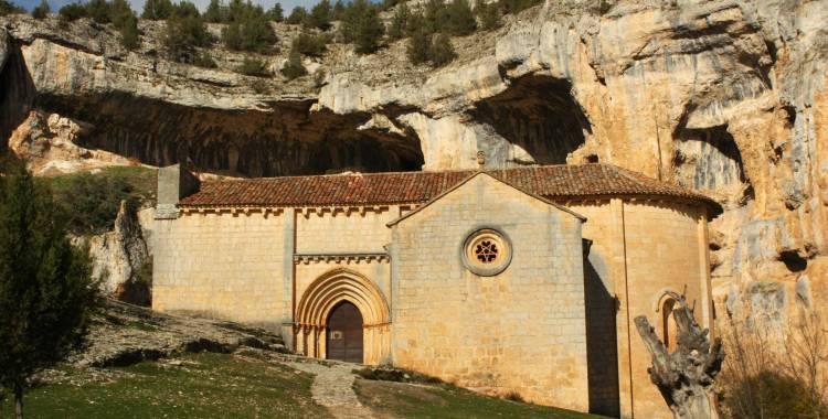 Ermita Templaria San Bartolome Cañón Rio Lobos