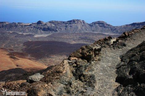 Camino hacia el Teide
