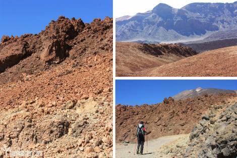 Inicio Ruta Subida Teide