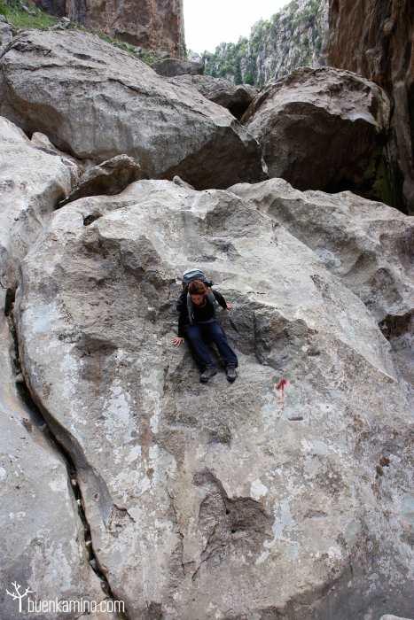 Descenso roca Torrente de Pareis