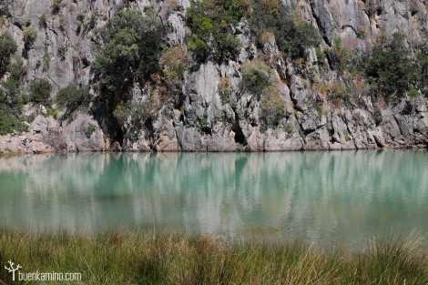 Agua entrante Cala Sa Calobra