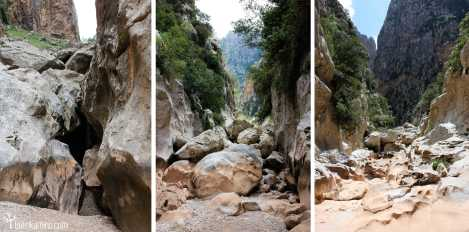 Rocas Torrent de Pareis