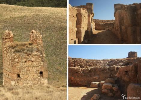 Castillo ruinas árabes Alcala de Henares