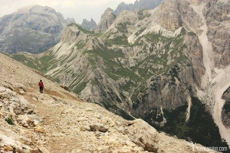 Ruta montaña Dolomitas Lavaredo