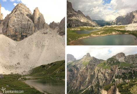 Recorrido Alpes Dolomitas