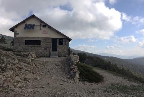 Refugio ruta sierra madrid