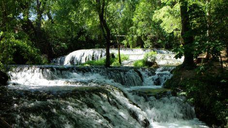 Cascadas parque natural