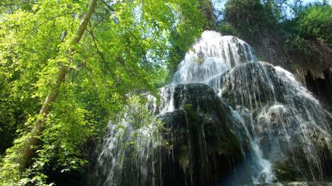 Cascada parque natural españa