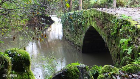 Puente ruta camino de santiago