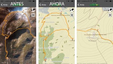 mapas app wikiloc