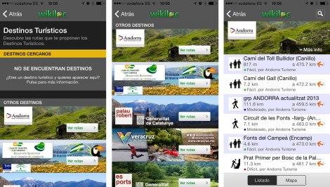 wikiloc rutas destinos turisticos
