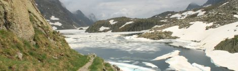 Trekking bajo la lluvia Pirineos